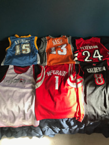 Assorted NBA Basketball Jerseys