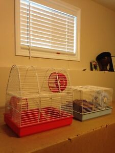 Hamster Cages - 1 deluxe and 1 basic