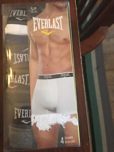 Everlast men's small trunks,4 or, new