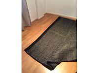 Large Asko wool rug, B&W, 300 x 210cm