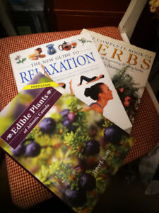 Herbs, Edible Plants and Relaxation!