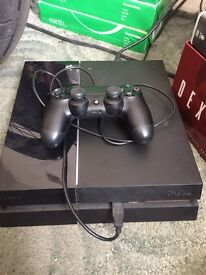 PS4 500gb With Controller & Cables