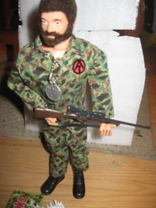 GI JOE 1964 TAKLKING IN ENGLISH VERY GOOD AND STRONG whit unifor
