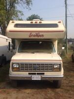 Low km mint condition motorhome!