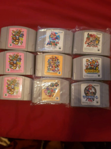 Japanese console N64 games