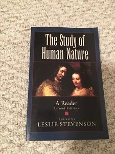 The Study of Human Nature: A Reader -- Second Edition St. John's Newfoundland image 1