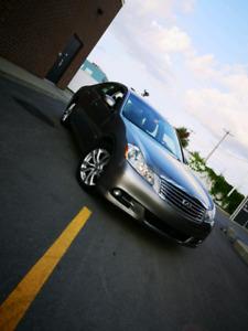 INFINITI M35x w/aluminium trim 2009