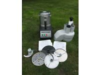 Commercial robot coupe r301 ultra food processor with 4 blades