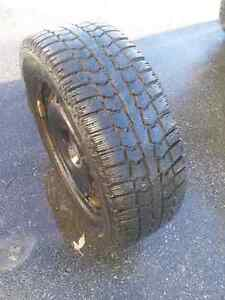 Winter Tires on Rims! Great Condition!!! West Island Greater Montréal image 3