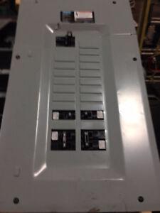 panneau électrique , breaker , switch,usagé