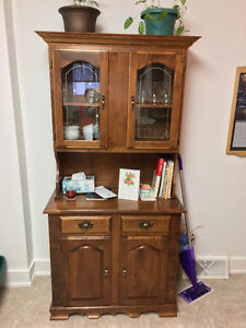Moving Sale - Hutch & Cabinet