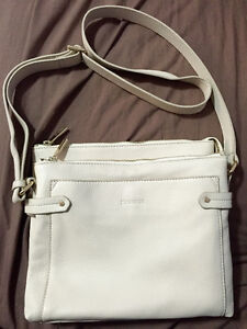 Danier Leather Cream Bag