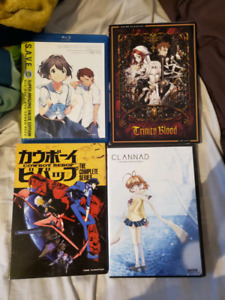 Misc. Anime DVD Collection