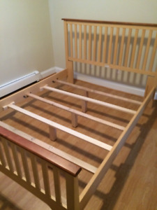 Queen Bed Frame / Mattress/ Box Spring
