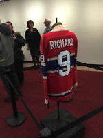 MAURICE RICHARD Signed Montreal Canadiens Vintage Wool Jersey
