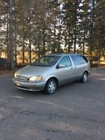 2002 Toyota Sienna WITH INSPECTION