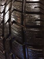 Set of 4 Arctic claw tires for sale on aluminium rims! Like new!