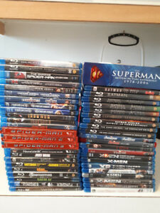 Blu ray et dvd collection