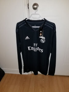 Maillot Real Madrid Manches Longues NEUF