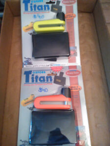 OXFORD TITAN DISC LOCK ORANGE OR YELLOW  BRAND NEW OF-28O  OF28Y