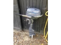 Yamaha 4hp f4 four stroke outboard for boat