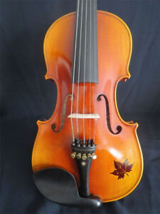 Rare 5 Five String Violin / Viola - Like New - w. Case and Bow