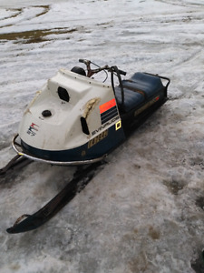 440 twin  evinrude norseman sled