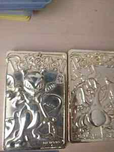 Burgerking gold plated pokemon collectables Peterborough Peterborough Area image 1