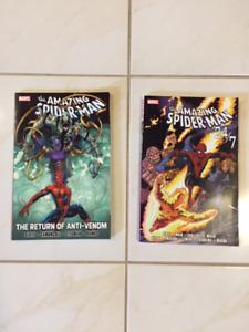 Marvel Spider-Man graphic novels
