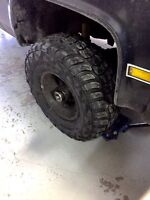 Trade or sell 33/12.5r15 kumho mud tires $750obo
