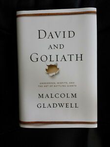 autographed/NEW - David and Goliath by Malcolm Gladwell