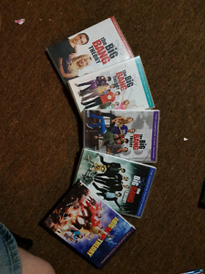 Big bang theory season 1-5
