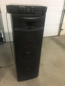 Cerwin Vega Tower Speakers XLS-215(pair) with Amp o.b.o