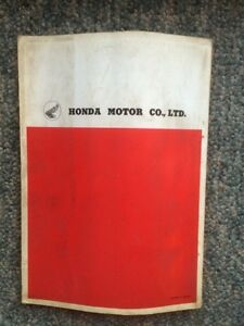 1963 Honda 50 55 Parts List Regina Regina Area image 4