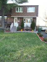 4 BDRM - Pierrefonds West - Huge corner lot - pool, a/c, more