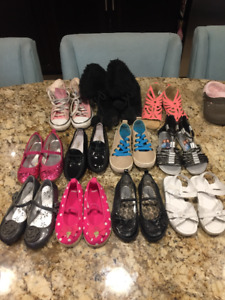 Girls Brand Name Toddler size 10 & 11 Shoes