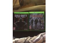 Black ops 3 and the division (Xbox one)