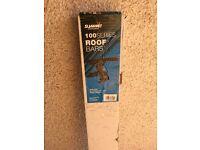 Summit car roof bars, unused in packaging