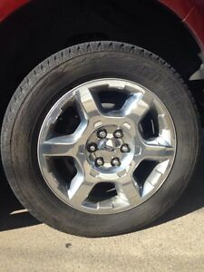 Ford F-150 tire and rim combo