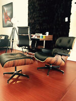 Eames Lounge Chair & Ottoman - FREE SHIPPING
