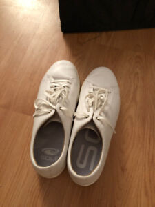 White Cole Haan Grand Crosscourt Sneakers