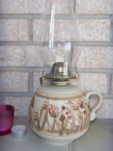 Superb Oil Lamp PERFECT MINT Condition
