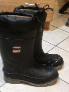 Insulated Steel toed Rubber boots