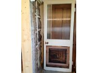 FREE. Original door half glass door