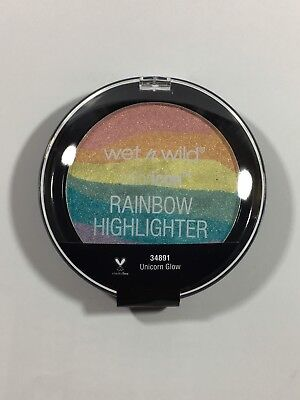 Wet n Wild Color Icon RAINBOW Glow Highlighter Unicorn Glow New & Sealed