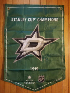 Molson NHL Stanley Cup Banners Dallas Stars