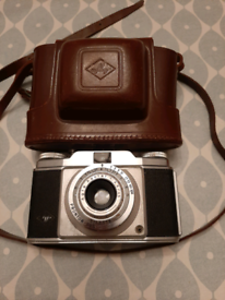 Vintage Camera and Case- Made in Germany