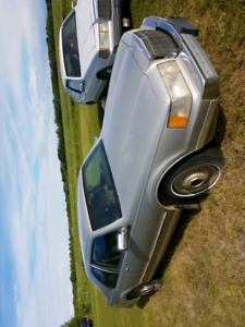 1987 Mk7 Lic Cont .  Bill Blaiss Model  2 dr. coupe 120000 km as