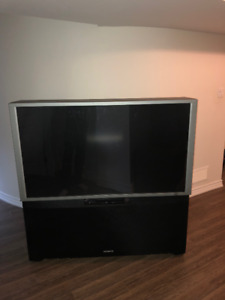Hitachi 57 inch Rear Projection TV for FREE