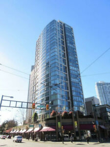 NEW Luxury Furnished 1 bedroom and den  in Yaletown 23rd FL